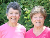 Sisters who conserved 122 acres.
