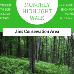 Monthly Highlight Walk: Zins Conservation Area