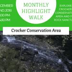Monthly Highlight Walk: Crocker Conservation Area