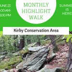 June Monthly Highlight Walk: Kirby Conservation Area