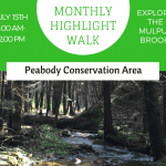 July Monthly Highlight Walk: Peabody Conservation Area
