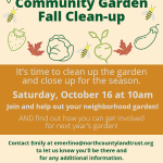 Quarry Lane Fall Garden Cleanup
